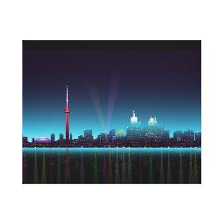 Toronto Waterfront panorama Canvas Print