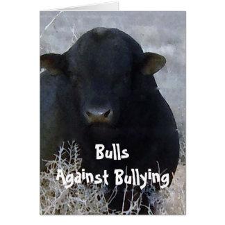 Toros contra tiranizar #1 de 7 diferentes tarjeta de felicitación