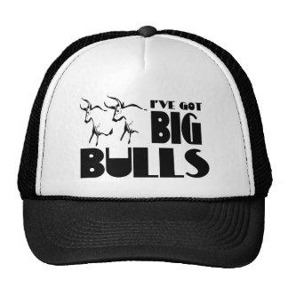 Toros grandes - granjero divertido gorras