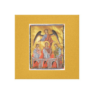 Toros Roslin Armenian Illuminator Gallery Wrap Canvas