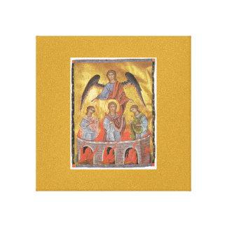 Toros Roslin Armenian Illuminator Canvas Print