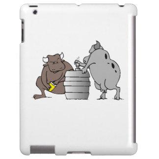 Toros y barrilete funda para iPad