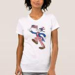 Torpe patriótico camiseta