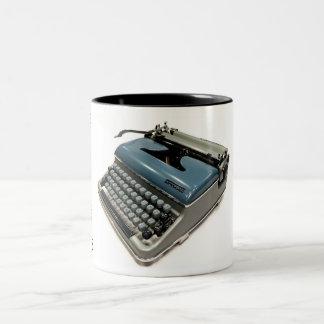 Torpedo 18B typewriter Two-Tone Coffee Mug
