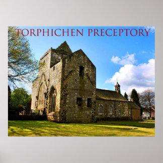 torphichen preceptory poster