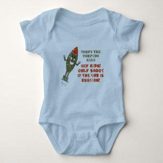 Torpy the Torpedo - Retro Baby Bodysuit