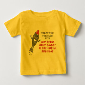 Torpy the Torpedo - Retro Baby T-Shirt