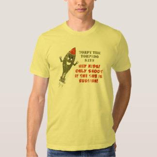 Torpy the Torpedo - Retro T Shirt