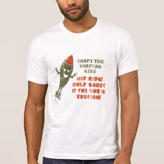 Torpy the Torpedo - Retro T Shirts