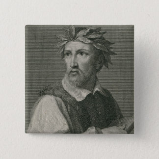 Torquato Tasso from 'The Gallery of Portraits' Pinback Button