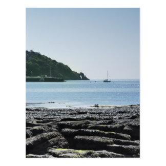 Torquay seafront postcard