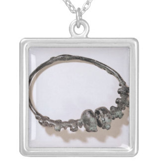 Torque, from Marne Silver Plated Necklace