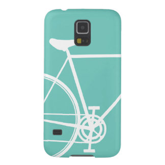 Torquoise Abstract Bicycle Case