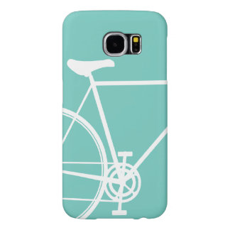 Torquoise Abstract Bicycle Case-Mate Barely There Samsung Galaxy S6 Case
