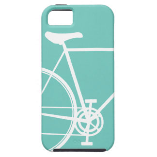 Torquoise Abstract Bicycle iPhone 5 Case