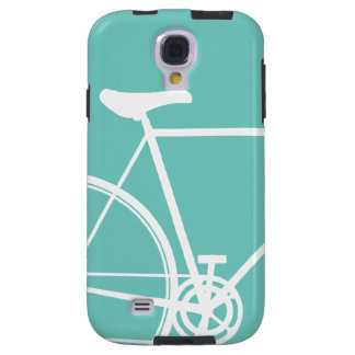 Torquoise Abstract Bicycle Samsung Galaxy Galaxy S4 Case