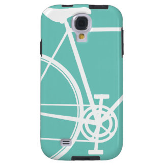 Torquoise Abstract Bicycle Samsung Galaxy S4 Galaxy S4 Case