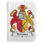 Torrance Family Crest Kindle Covers