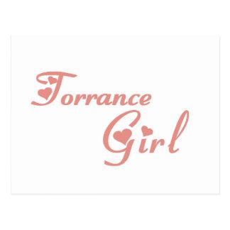 Torrance Girl tee shirts Postcard