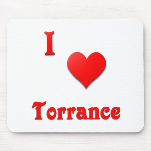 Torrance -- Red Mousepad