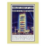 Torre 1933 del coche de Nash de la expo de Chicago Tarjetas Postales