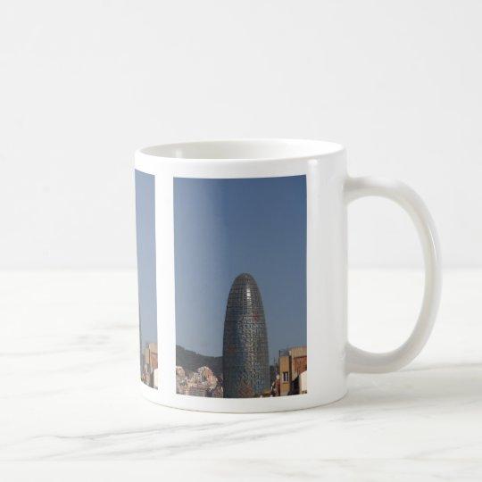 Torre Agbar, Barcelona Coffee Mug