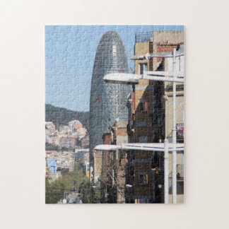 Torre Agbar, Barcelona Puzzles