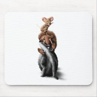 Torre animal del bosque - el ejemplo de los niños alfombrillas de ratón
