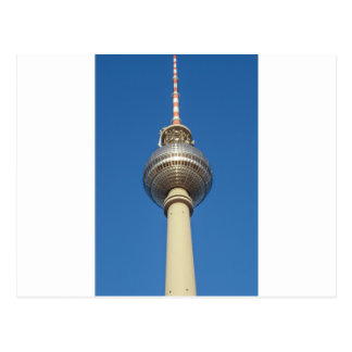 Torre Berlín de la televisión de Fernsehturm Tarjeta Postal