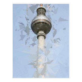 Torre Berlín de la TV Postales