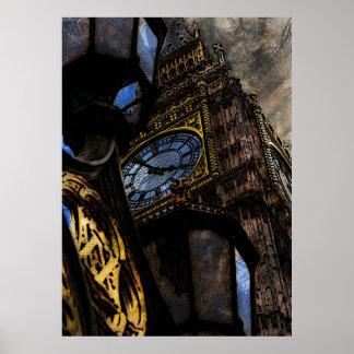 Torre Big Ben Londres Poster