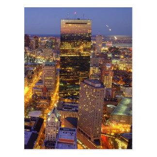 Torre céntrica de Boston y de Hancock Postales