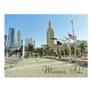 Torre céntrica de Miami de la libertad Postal