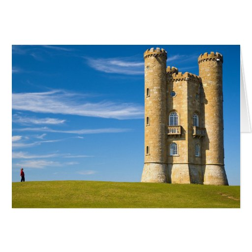 Torre Cotswolds Inglaterra de Broadway Tarjeta