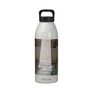 TORRE cristalina de la mirada de la REPRODUCCIÓN - Botella De Agua