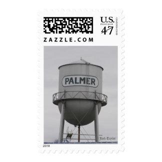 Torre de agua 02 sello postal