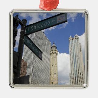 Torre de agua Chicago Illinois los E E U U Ornamente De Reyes