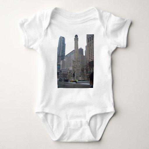 Torre de agua de Chicago Body Para Bebé