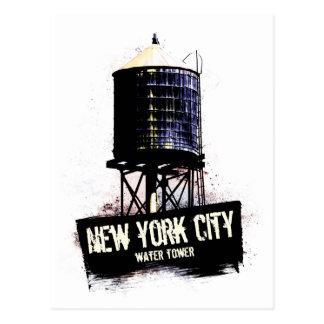 Torre de agua de New York City Postales