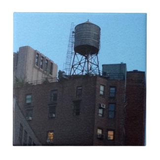 Torre de agua de NYC Teja