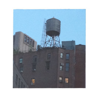Torre de agua de NYC Libreta Para Notas