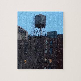 Torre de agua de NYC Rompecabeza