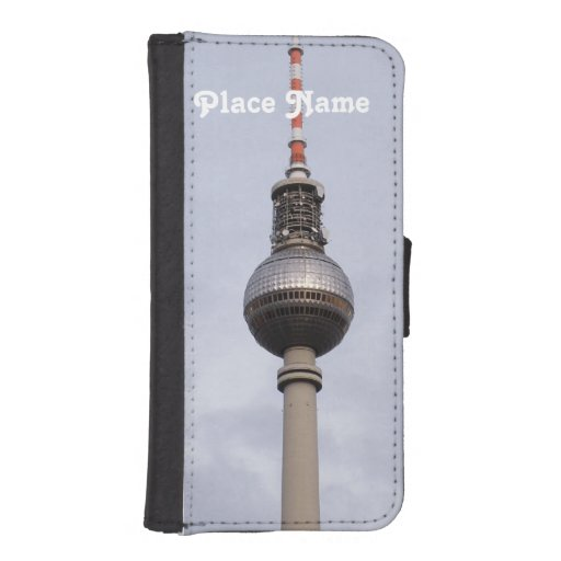 Torre de Alexanderplatz Funda Tipo Cartera Para iPhone 5