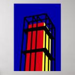 Torre de Arne Jacobsen Poster