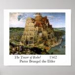 Torre de Babel - 1563 Posters