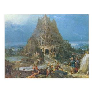 Torre de Babel de Pieter Bruegel Postal