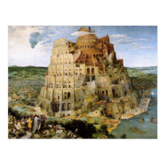 Torre de Babel - Peter Bruegel Postales