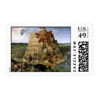 Torre de Babilonia Estampilla