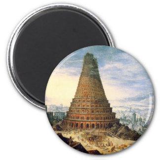 Torre de Bable Imán Redondo 5 Cm