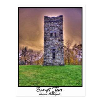 Torre de Bancroft Tarjeta Postal